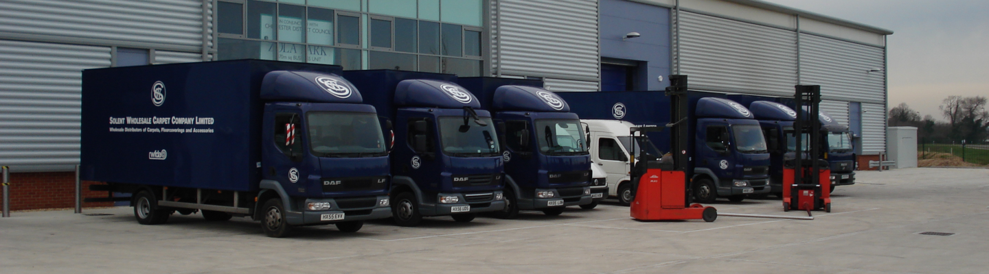 We own our own delivery fleet to ensure perfect deliveries